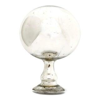 Antique Mercury Glass Gazing Globe