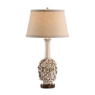 Robust Roses Lamp, Oyster