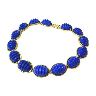 True Blue Monet Necklace
