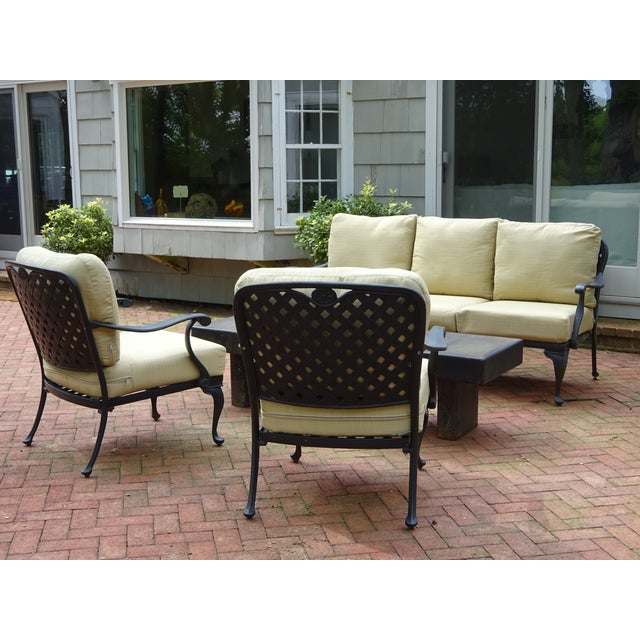 Summer Classics Provance Outdoor Living Room Set - Set of ... on Outdoor Living Set id=42586
