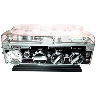 """Circa 1966 Motion Picture Audio Recorder Model """"Nagra III"""". Display As Vintage Sculpture."""
