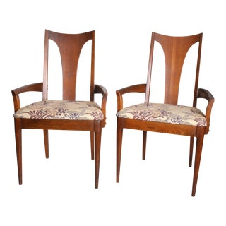 Mid Century Modern Broyhill Brasilia Dining Chairs - A Pair