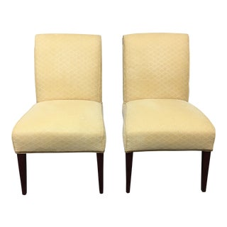 Lee Industries Upholstered Side Chairs - A Pair