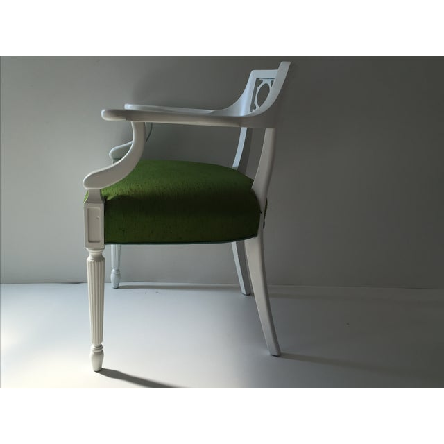 Palm Beach Hollywood Regency Chairs - Pair - Image 3 of 4
