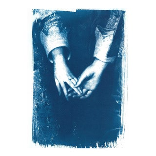 Engagement Painting by Antony Van Dyke, Cyanotype Print on Watercolor Paper (Limited Edition)