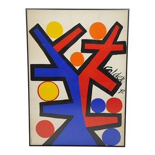 'Asymmetric Silk Screen' by Alexander Calder