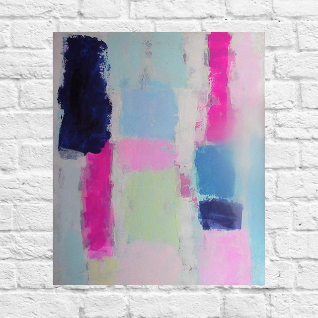 "Susie Kate ""Prelude #4"" Original Abstract Painting - Image 2 of 2"