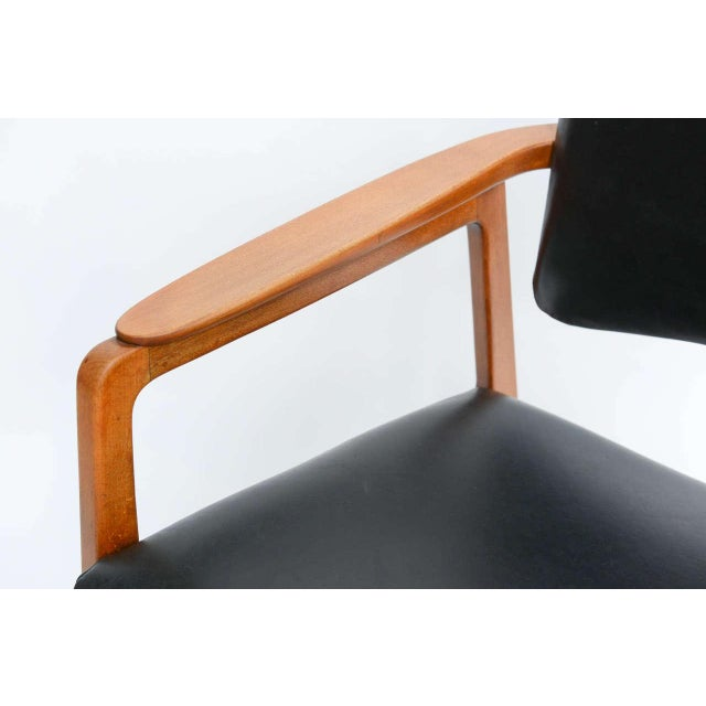Sigvard Bernadotte Teak Lounge Armchair for France & Daverkosen - Image 3 of 9