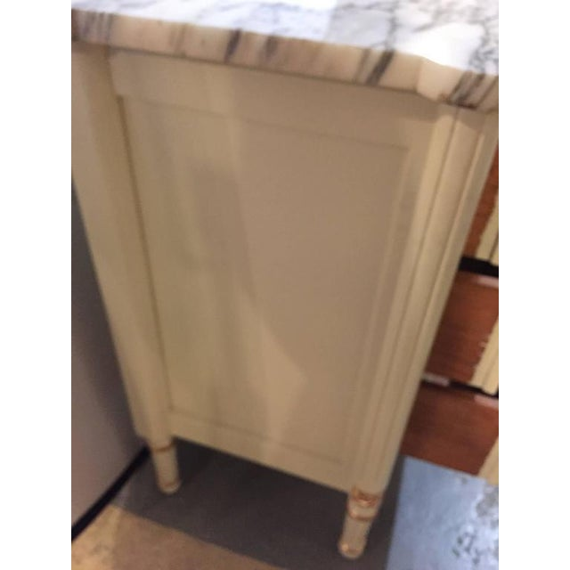 Hollywood Regency Louis XVI Style Commode - Image 7 of 9