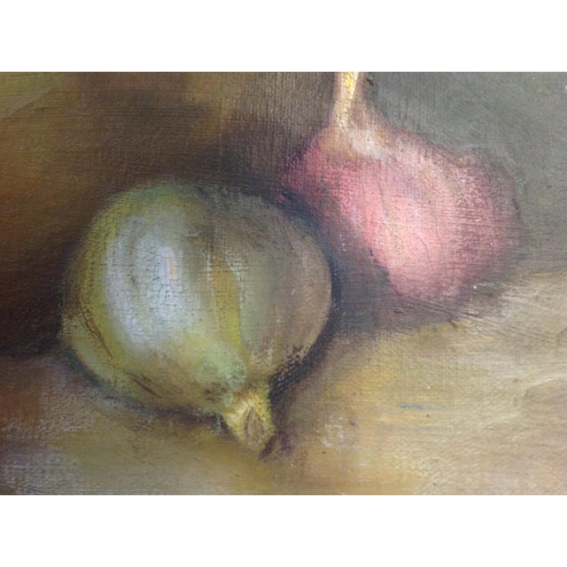 Still Life Oil Painting on Canvas - Image 7 of 7
