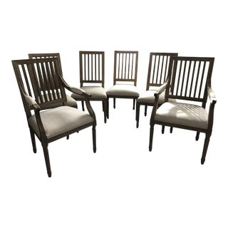 Restoration Hardware French Spindle Back Chairs - Set of 6