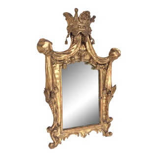 18th Century French Tassel Mirror