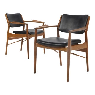 Arne Vodder Armchairs by Sibast