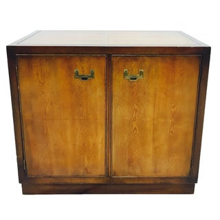 Vintage Mid-Century Campaign Style Cabinet