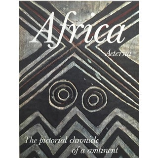 "1965 ""Africa Aeterna"" Coffee Table Art Book"
