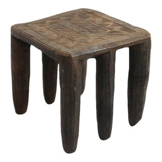African Nupe Chief Stool