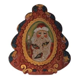G. DeBrect Russian Christmas Swivel Box
