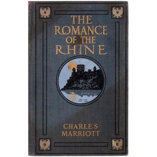 """The Romance of The Rhine"" Book by Charles Marriott"