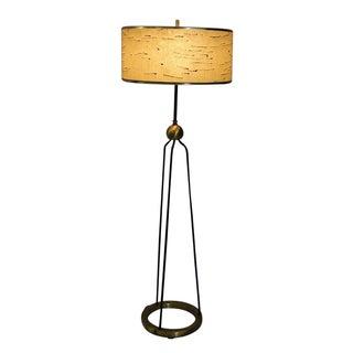 Mid-Century Modern Walter Von Nessen Floor Lamp