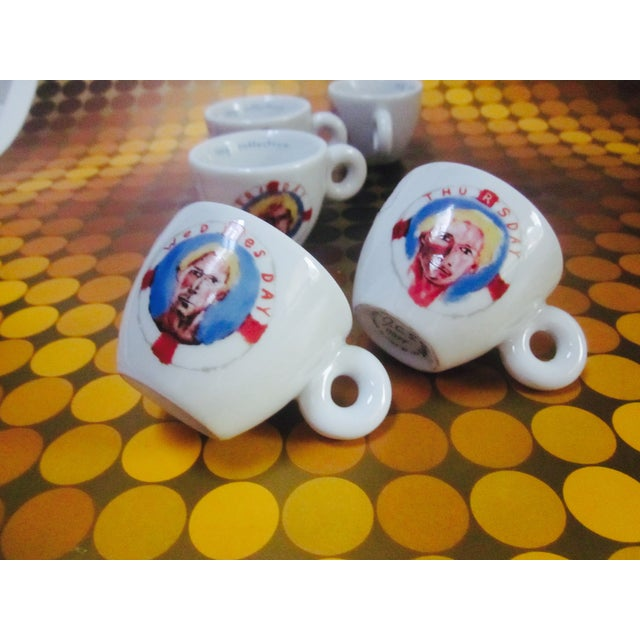 illy Espresso Cups by Julian Schnabel, 2005 - S/5 - Image 7 of 11