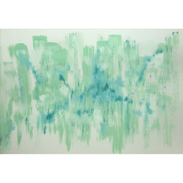Image of April-Abstract Painting by Cleo