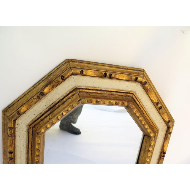 Vintage 1960's Gold Leaf Mirror - Image 3 of 4