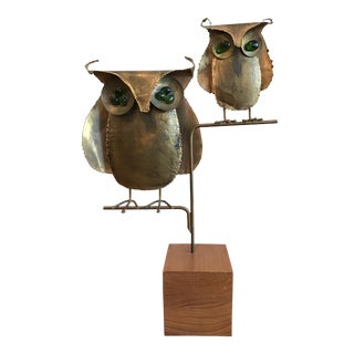 Curtis Jere Brass Owls