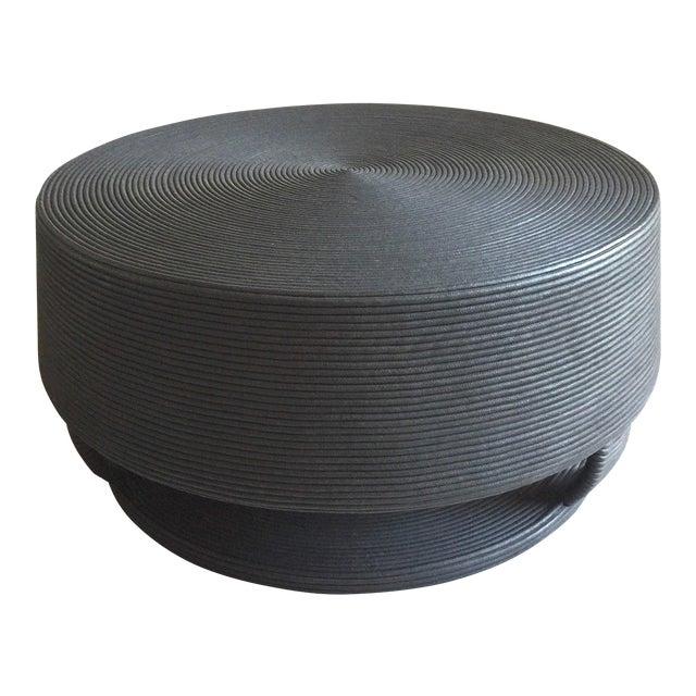 Afritamu Christian Astuguevielle Black Rope Coffee Table - Image 1 of 5