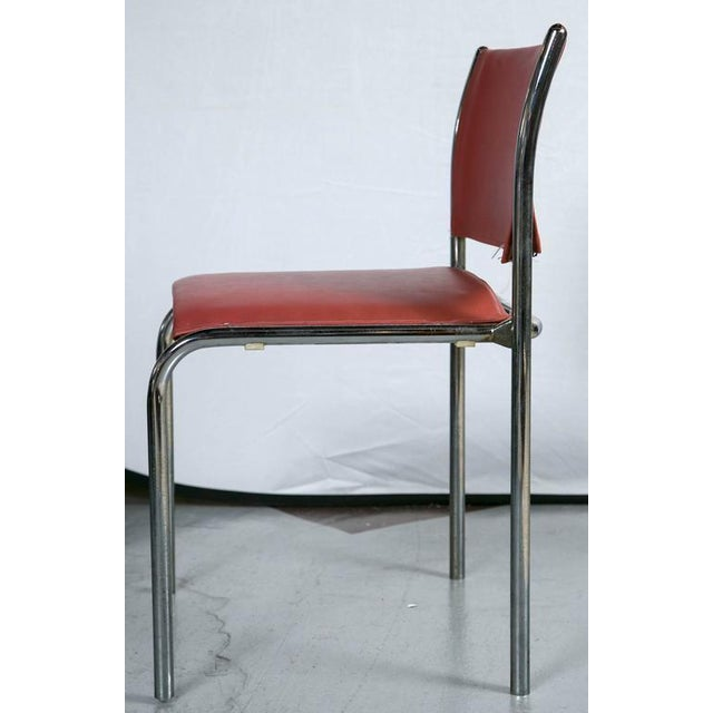 Thonet Mies van der Rohe-Style Chairs - Set of 10 - Image 4 of 4