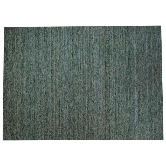 Sari Silk Flatweave Rug - 9′ × 12′ - Image 1 of 5