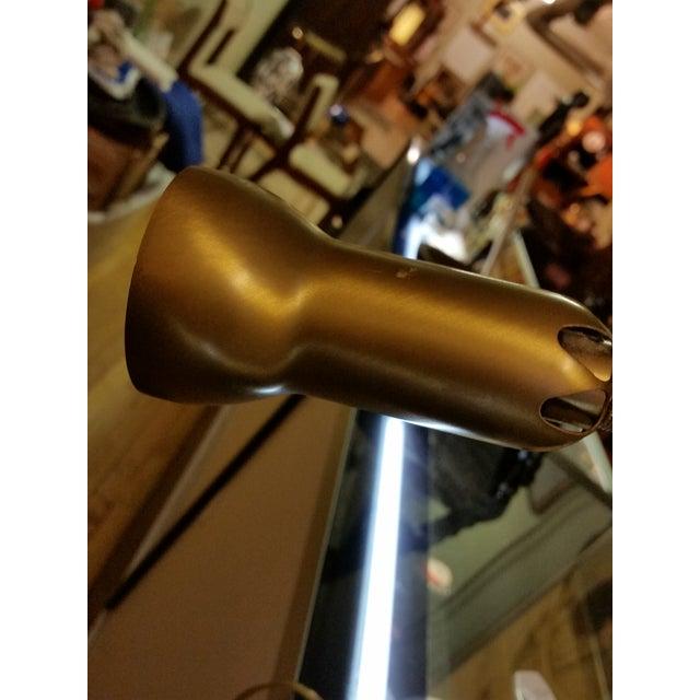 Levenger Brass Gooseneck Reading Lamp - Image 6 of 7
