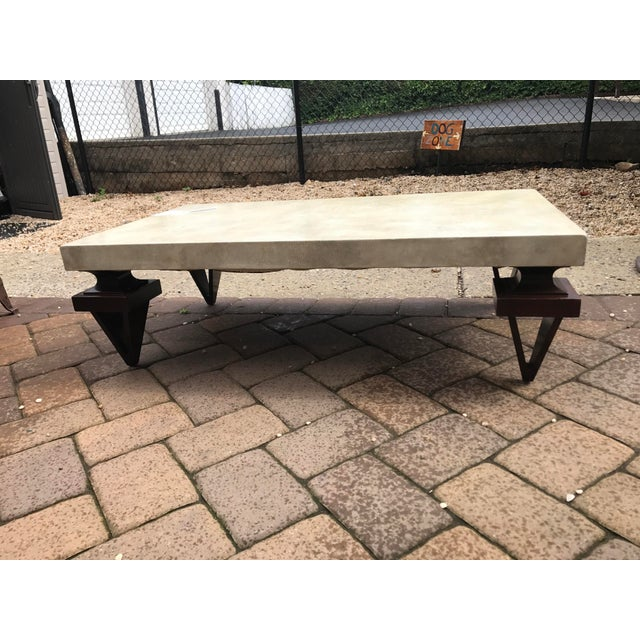Vintage John Stuart Leather Wrap Cocktail Table - Image 2 of 10