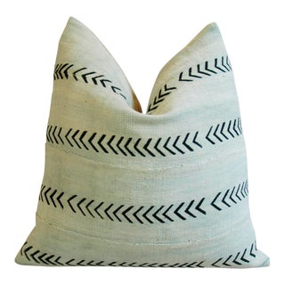 African Mali Mud Cloth Tribal Textile Pillow