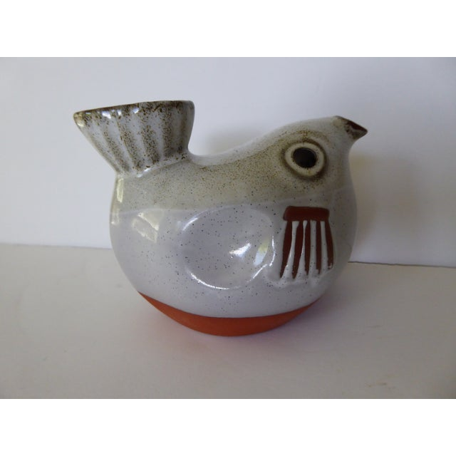 Image of Vintage Ceramic Fish Ashtray / Candle Holder