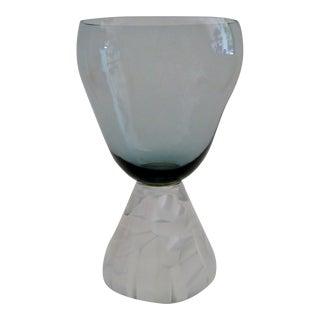 1950's Morgantown Art Glass Vase