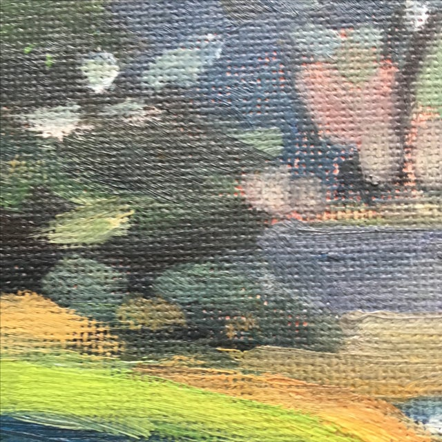 Abstract Seaside Landscape Painting Pacific Grove - Image 10 of 11