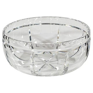 Wheel-Cut Glass Catchall