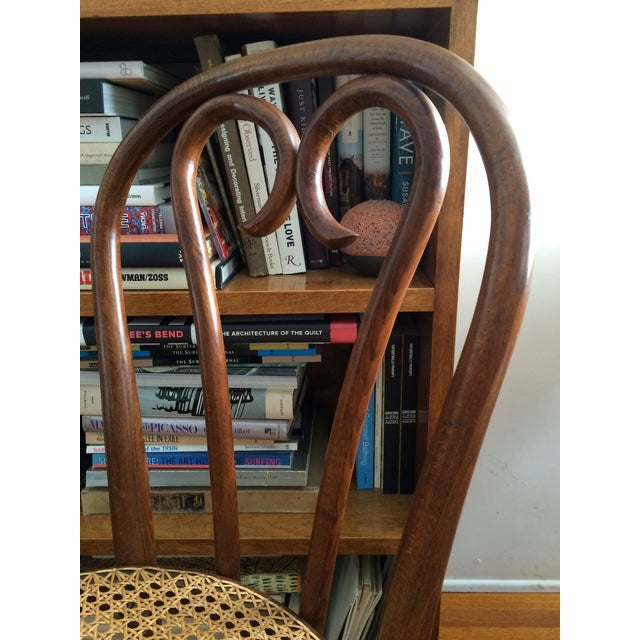 Image of Bentwood Thonet Cafe Chairs - A Pair