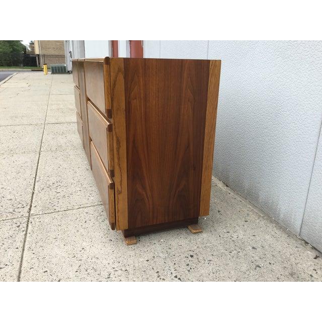 Image of 1960's Lane Modern 9 Drawer Dresser