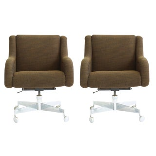 Pair of Roger Sprunger Office Chairs