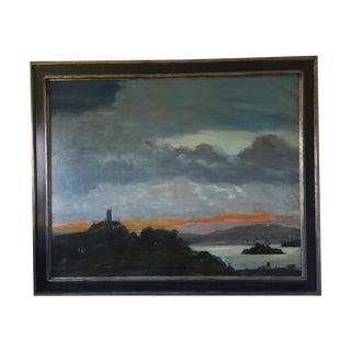 San Francisco Bay Oil Painting