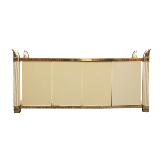 Hollywood Regency Cabinet & Buffet - Image 1 of 11
