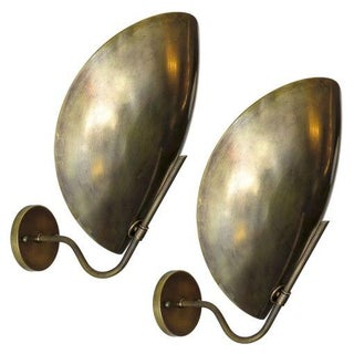 Custom Brass Beetle Sconces - A Pair