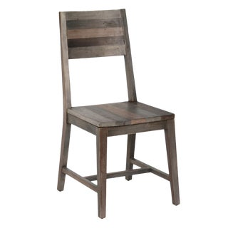 Rustic Reclaimed Wood Dining Chair