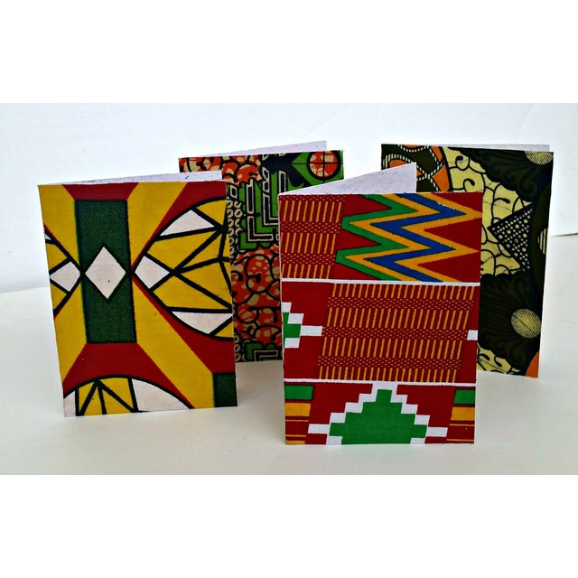 African Wax Fabric Greeting Cards - Set of 10 - Image 6 of 6