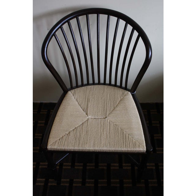 McGuire Ulloa Dining Chair in Dark Tobacco - Image 4 of 6