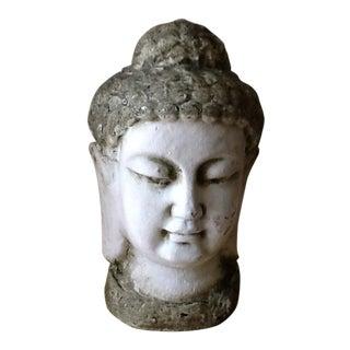 Asian Sculptural Stone Buddha Head