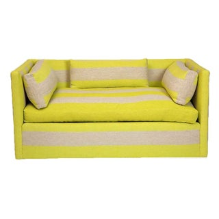 Yellow & Grey Settee