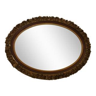 Vintage Giltwood Oval Mirror