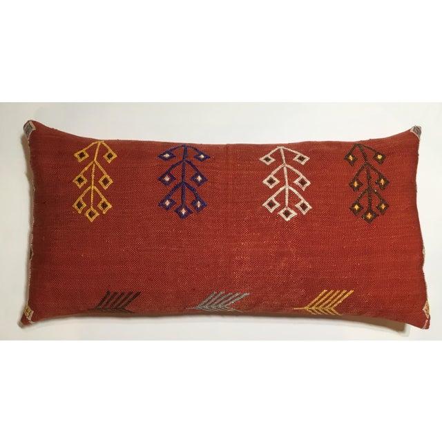 Moroccan Cactus Silk Pillow - Image 4 of 10